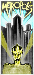 Metropolis poster Re-imaganing. by DCSPARTAN117