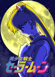 Sailor Moon (japanese version) by DCSPARTAN117