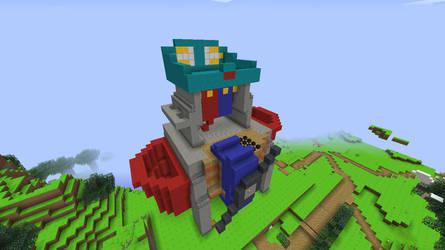 Minecraft-ToyLand-Fisher Price workbench by tails-sama
