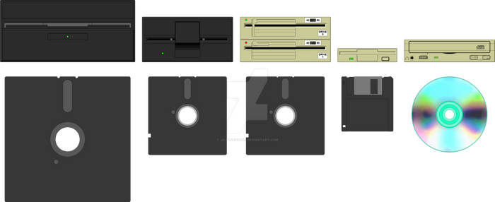 Disk Storage Media and Drives