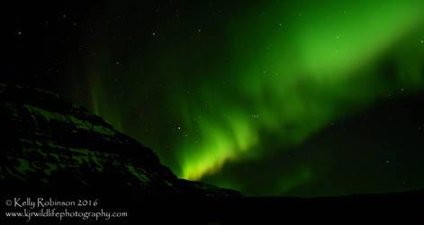 The Night Sky - on Fire