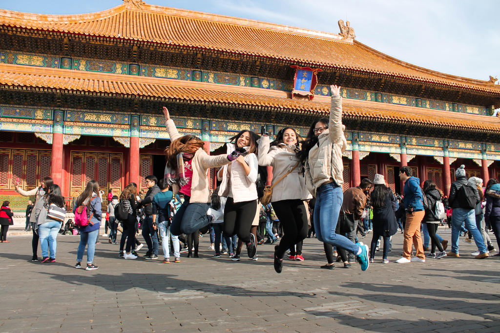 Beijing forbidden city by PaoSophie