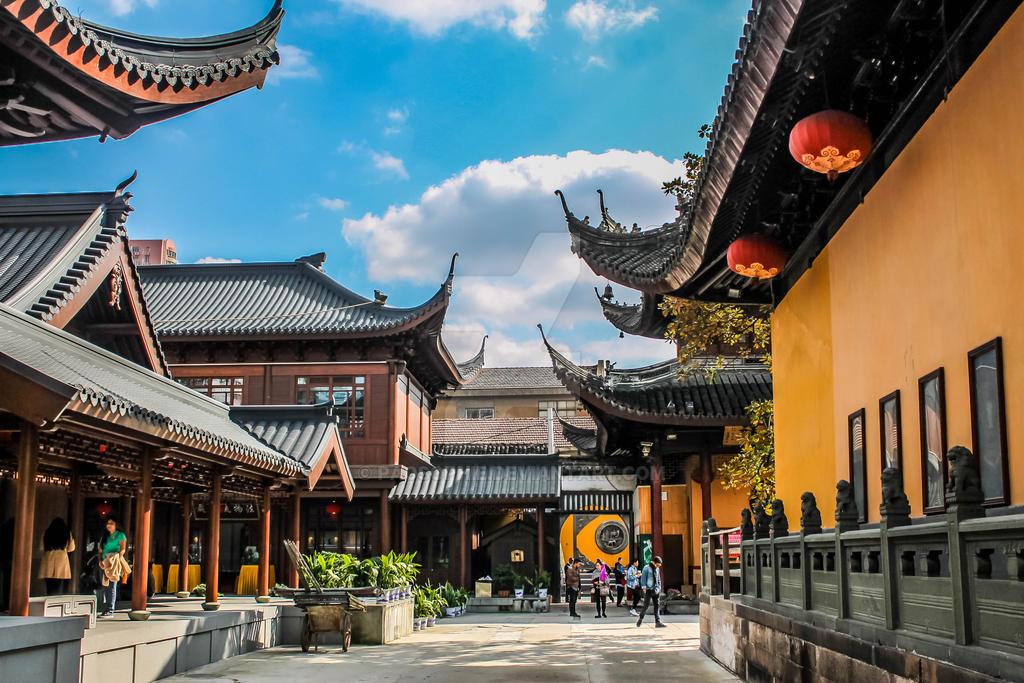 Jade temple - Shanghai by PaoSophie