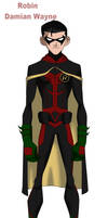 Damian Wayne Young Justice Concept by BobbenKatzen