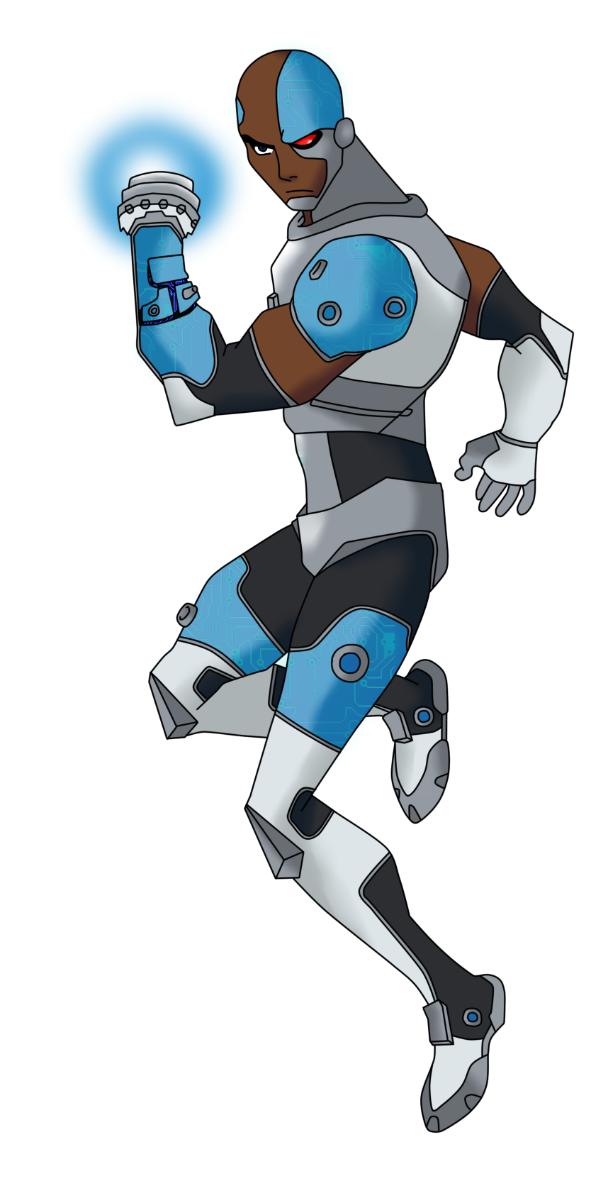 Teen Titans Cyborg YJ Style