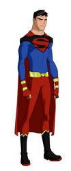 Kon-El Superman by BobbenKatzen