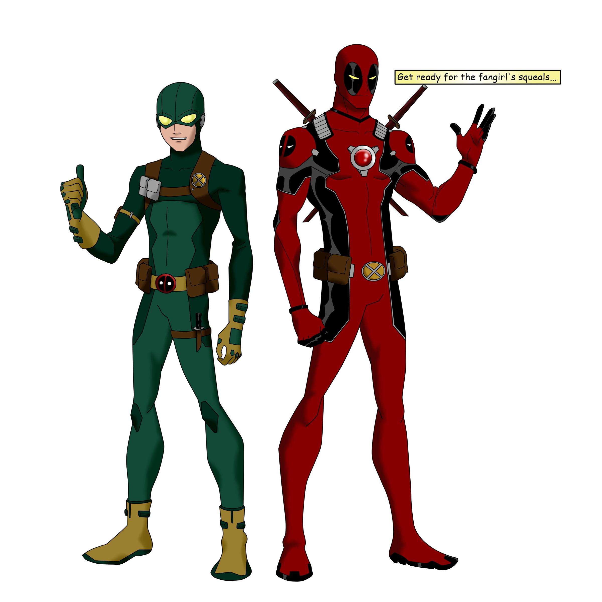 Deadpool And Bob, Agent Of... X? By BobbenKatzen On DeviantArt