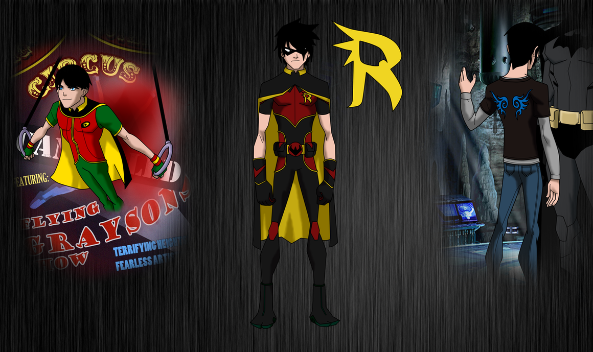 Dick Grayson Redesign by Bobkitty23