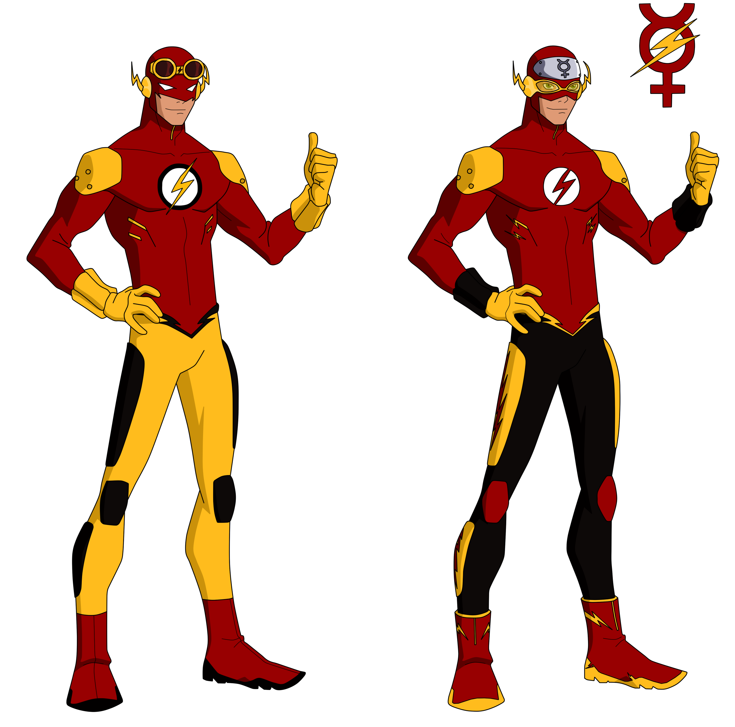 Character Design In Flash : Flash titans design by bobkitty on deviantart
