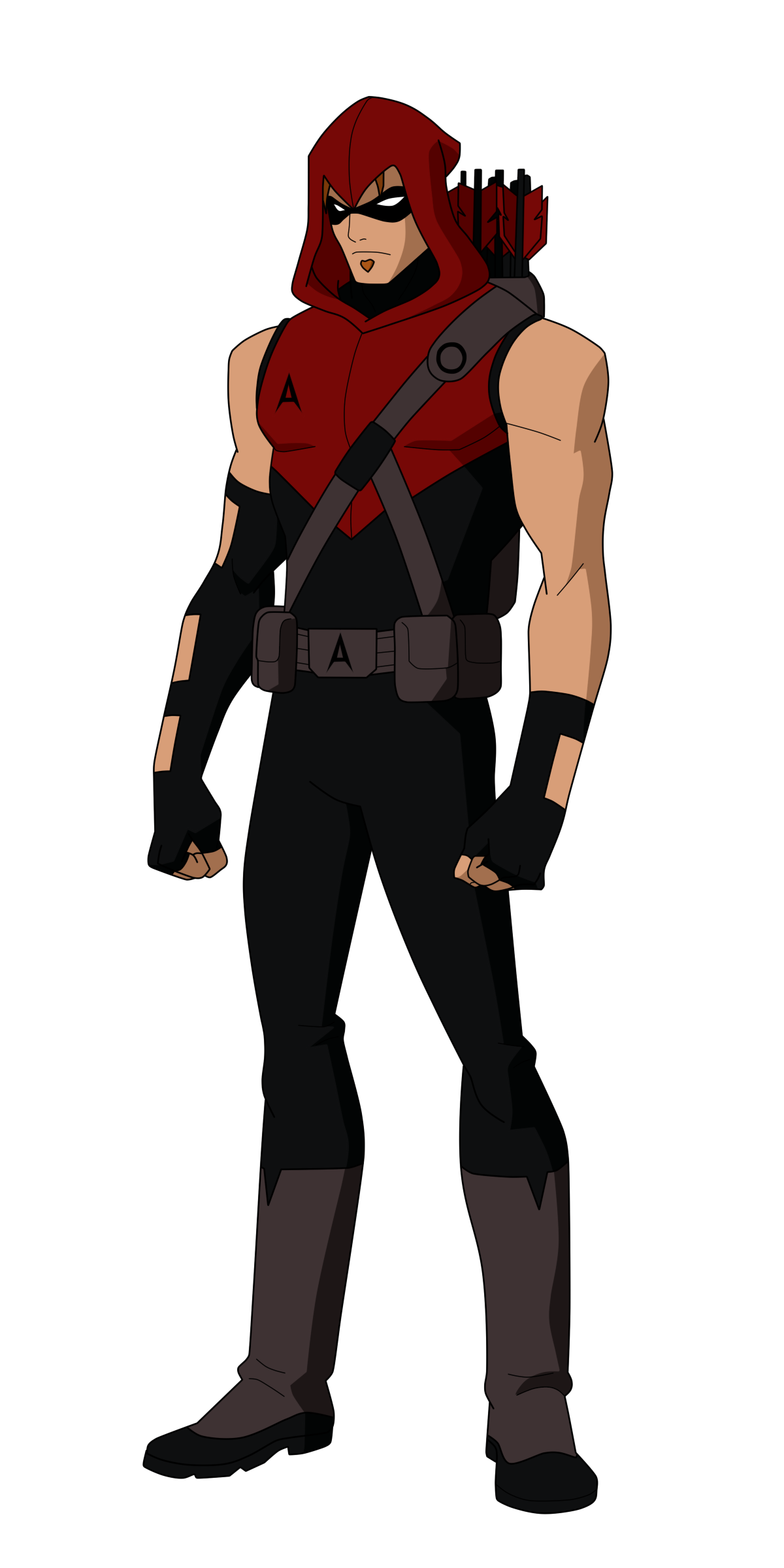 Red Arrow Titans Design by Bobkitty23 on DeviantArt