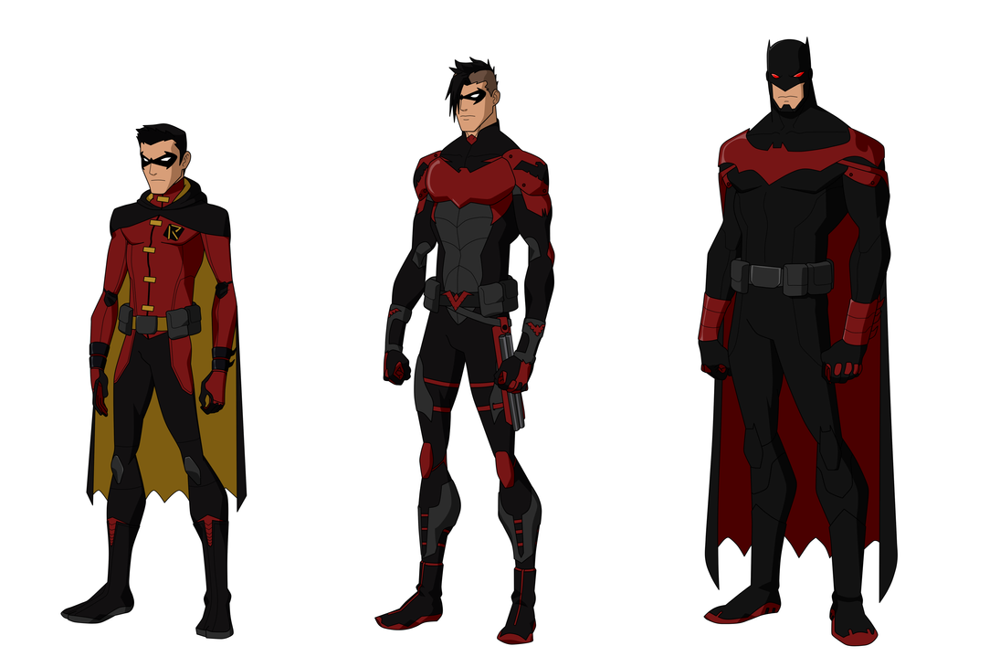 Damian Wayne Titans Design by Bobkitty23