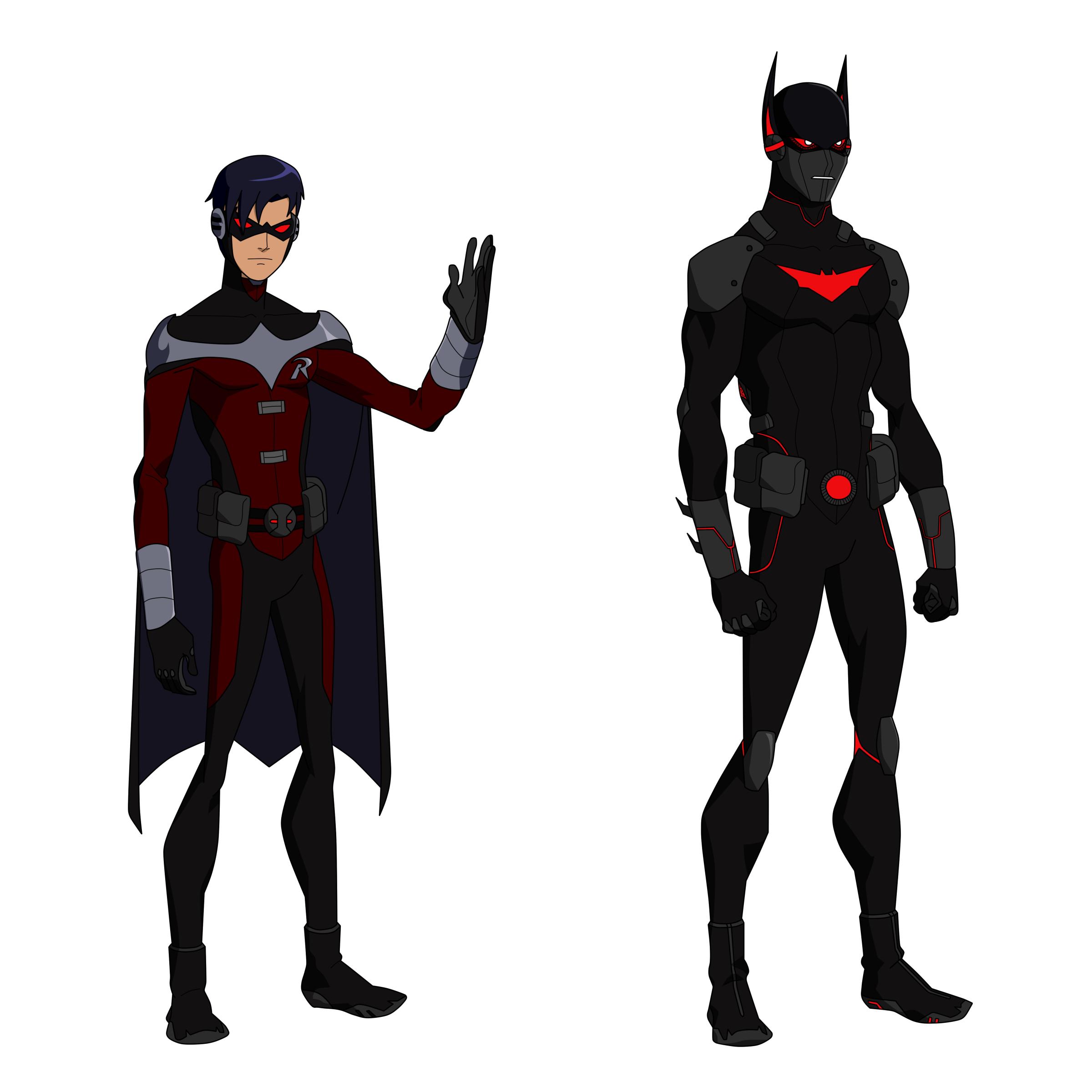 Terry McGinnis Titans Design by BobbenKatzen