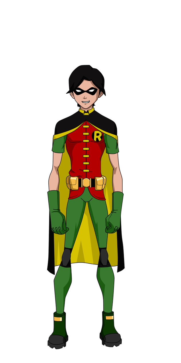 Earth-16 Year One: Robin by Bobkitty23