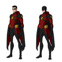 Red Robin Titans Designs by BobbenKatzen