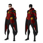 Red Robin Titans Designs