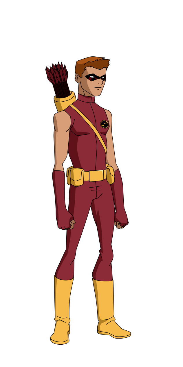 Speedy justice league unlimited