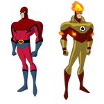 Request: Scarlet Scarab and Golden Torch