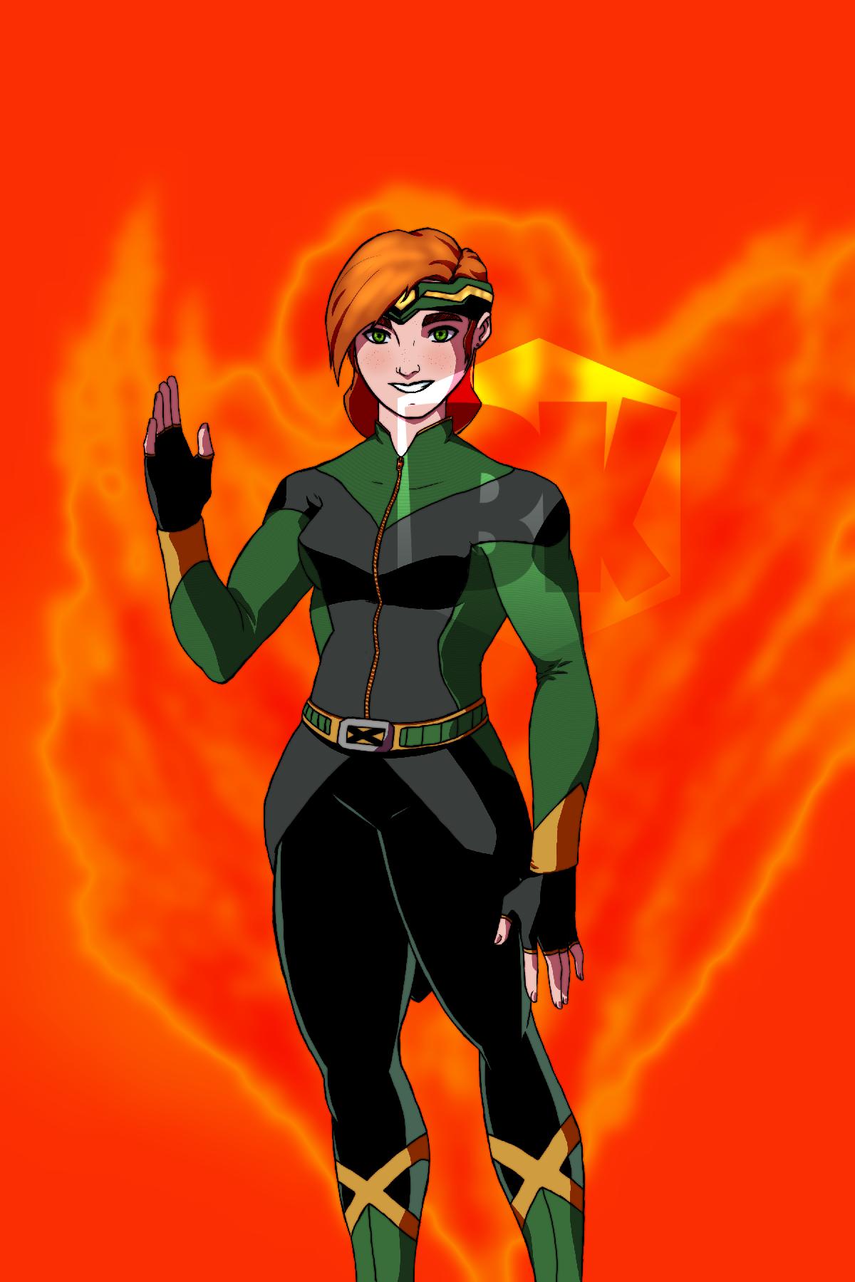 Marvel Girl Redesign