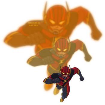 Amalgam Heroes Rebirth: Bullet-Ant by BobbenKatzen