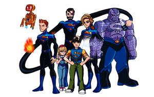 Amalgam Heroes Rebirth: The Super Six