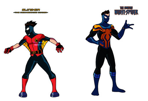 Amalgam Heroes Rebirth: Night-Spider