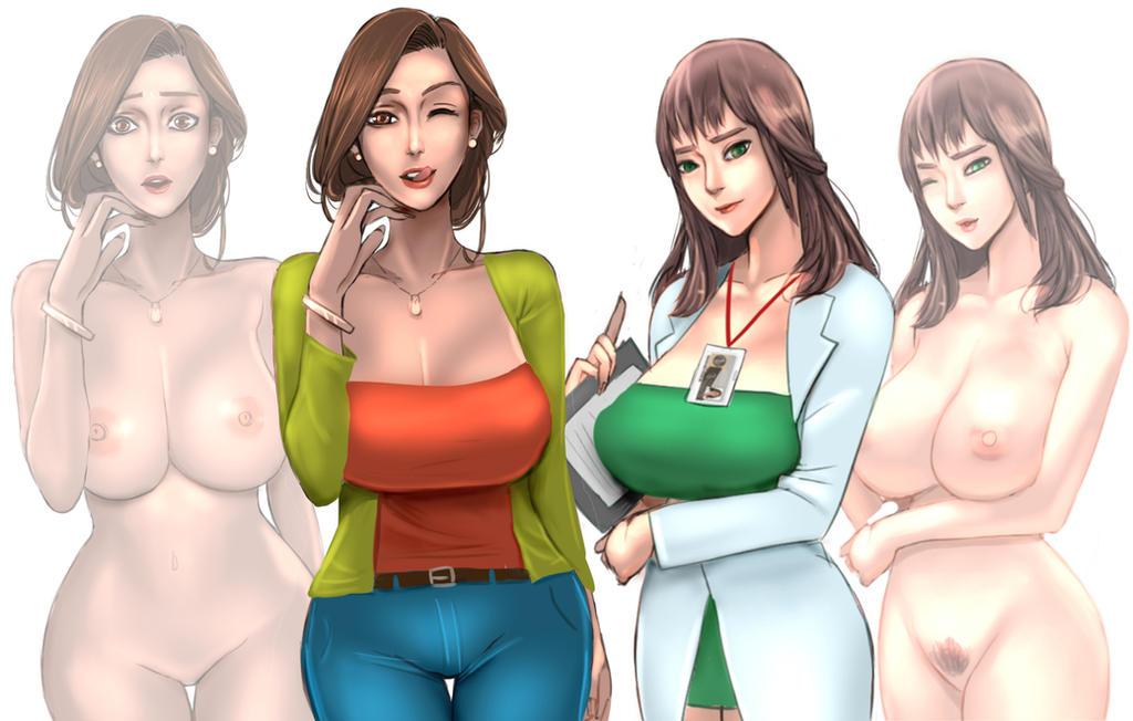 Character design updates on AZL by ScarlettAnn1028