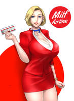 Milf Airline: LUCY!