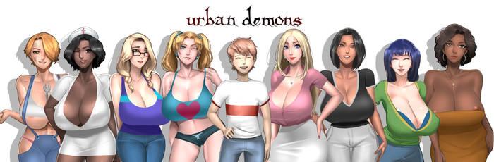 Urban Demon all star by ScarlettAnn1028
