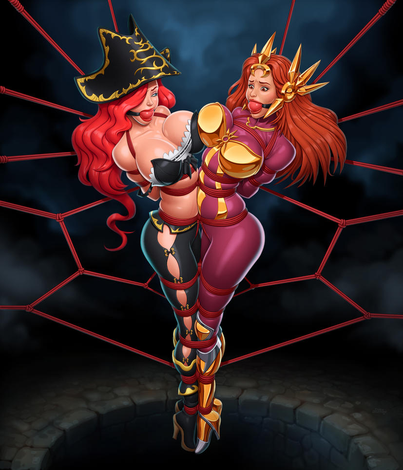 Miss fortune and Leona Duo bot lane by kinky89