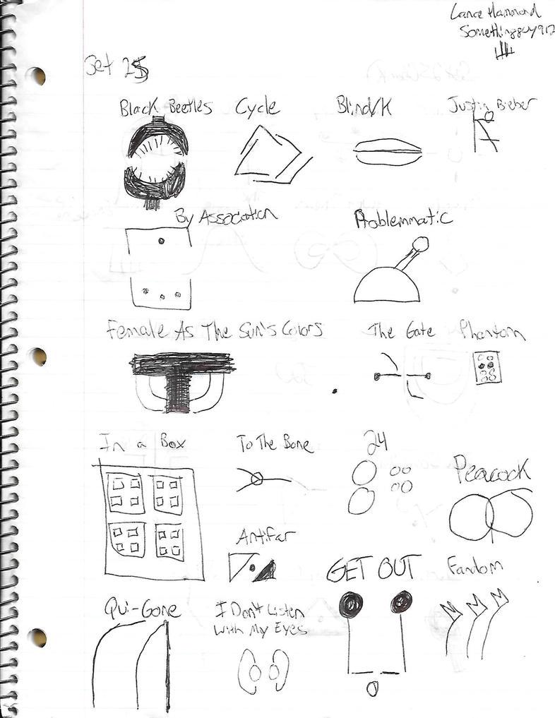 Minimal Documents - Set 25 (Front) by Somethingguy912
