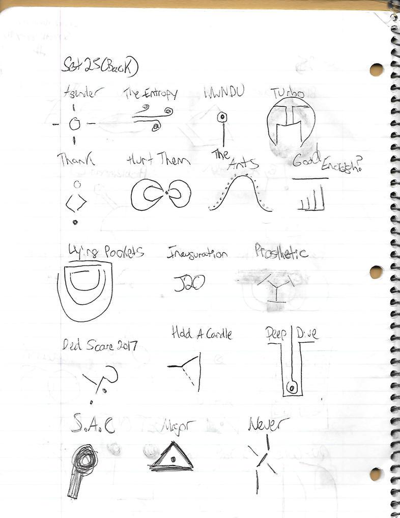 Minimal Documents - Set 25 (Back) by Somethingguy912