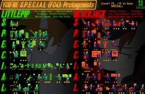 You're SPECIAL (FO4): Protagonists by Somethingguy912
