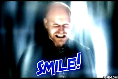 Michael Says Smile by Nanajesmine