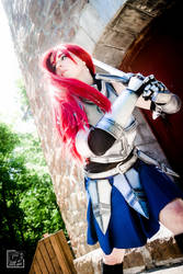 Warrior in action by SCARLET-COSPLAY
