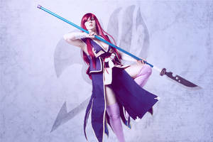 Erza Scarlet Robe of Yuen - Fairy tail by SCARLET-COSPLAY