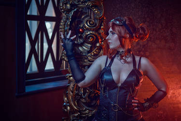 Steampunk girl by SCARLET-COSPLAY
