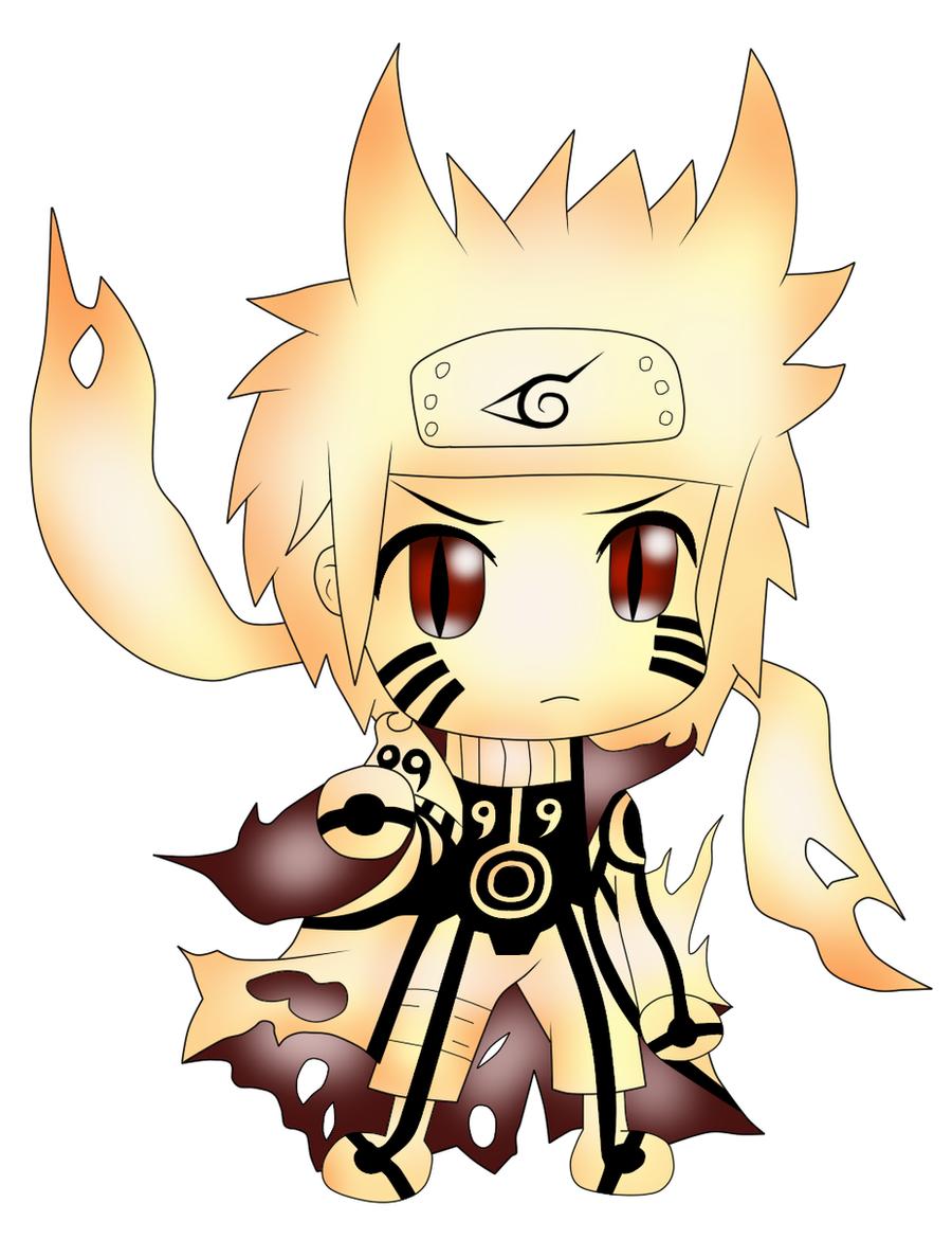 Naruto Bijuu Mode Chibi by ParitSentiment on DeviantArt