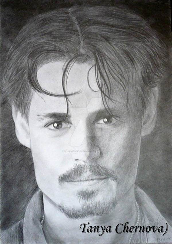 Johnny Depp by yatanya