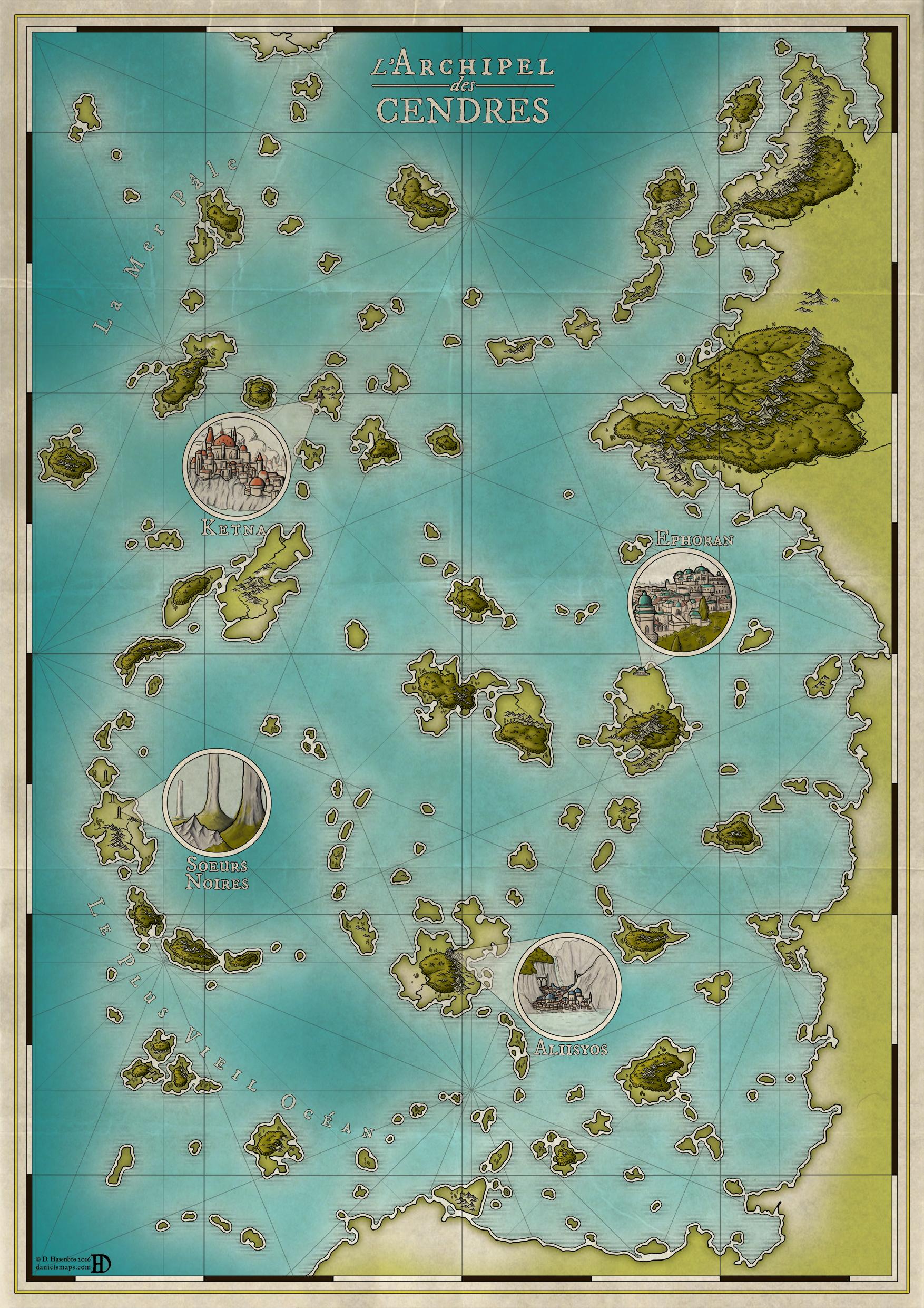 Archipelago of Ashes by DanielHasenbos