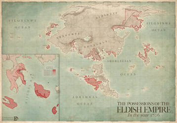 Possessions of the Eldish Empire