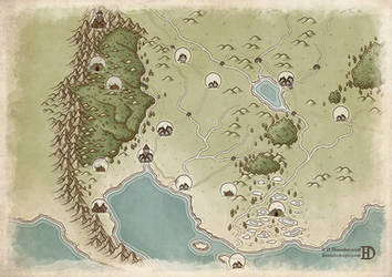 The Kingdom of Thayal by DanielHasenbos