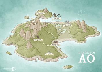 The Isle of Ao by DanielHasenbos
