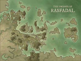 The Swamps of Rasfadal by DanielHasenbos