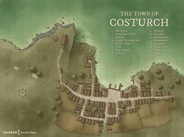 The Town of Costurch