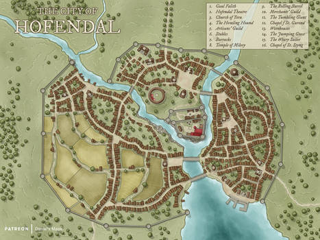 The City of Hofendal