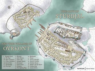 Sturdjal and Ovrkont by DanielHasenbos