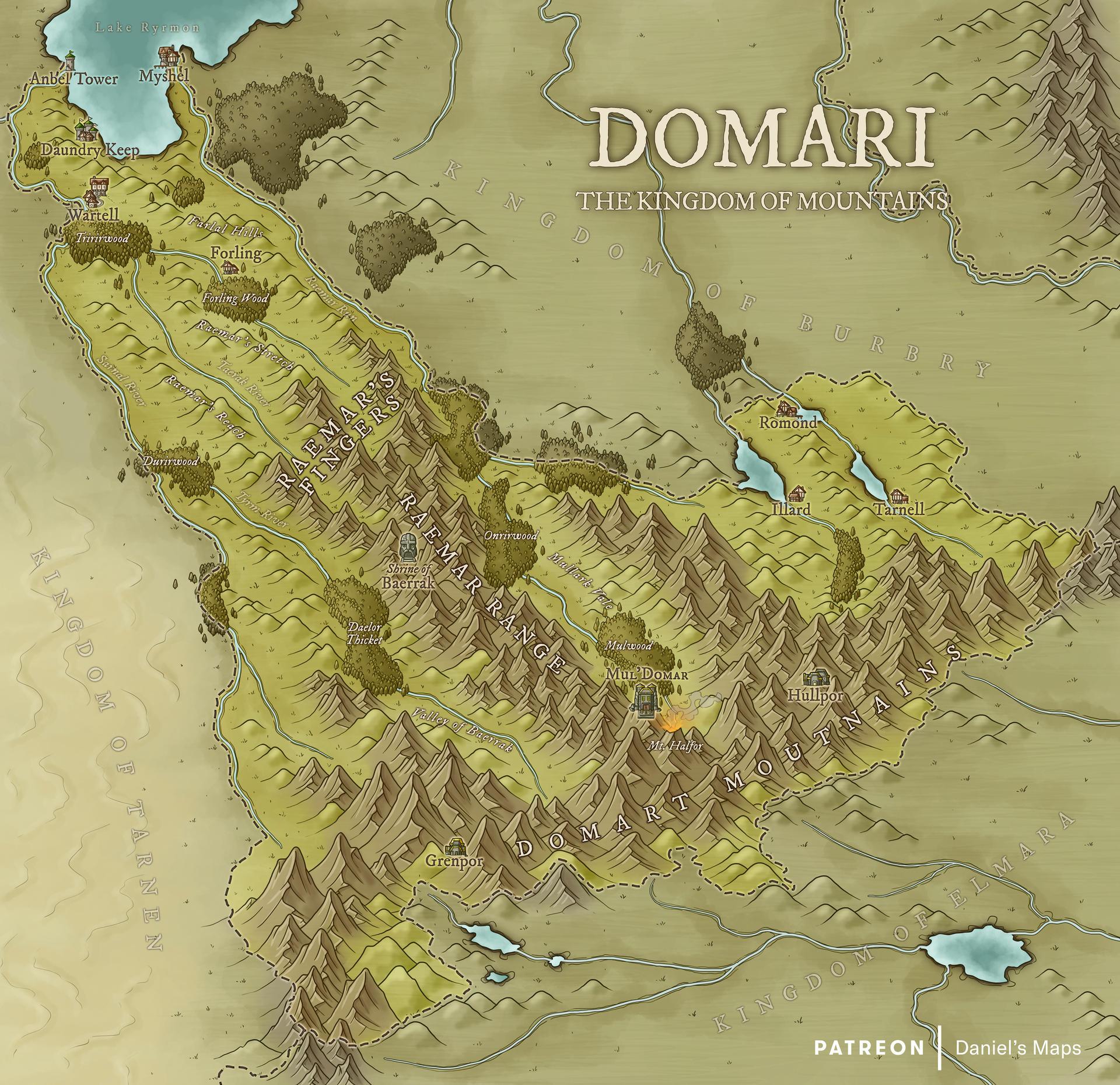 Domari, the Kingdom of Mountains