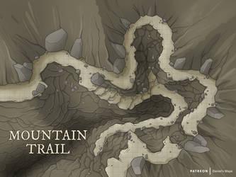 Mountain Trail by DanielHasenbos