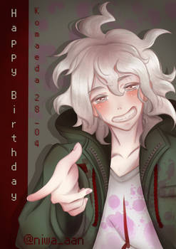 Happy Birthday, Nagito Komaeda!