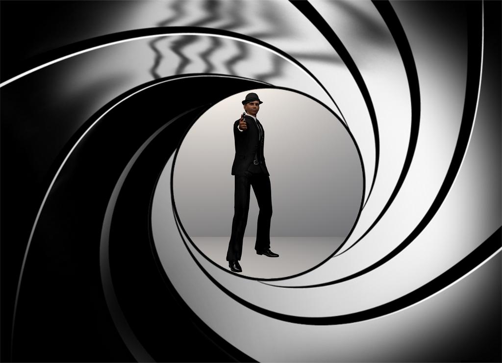 007 Gunbarrel 2 by VHamelin